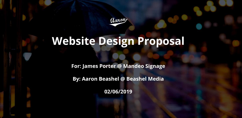 آموزش-پروپوزال طراحی سایت