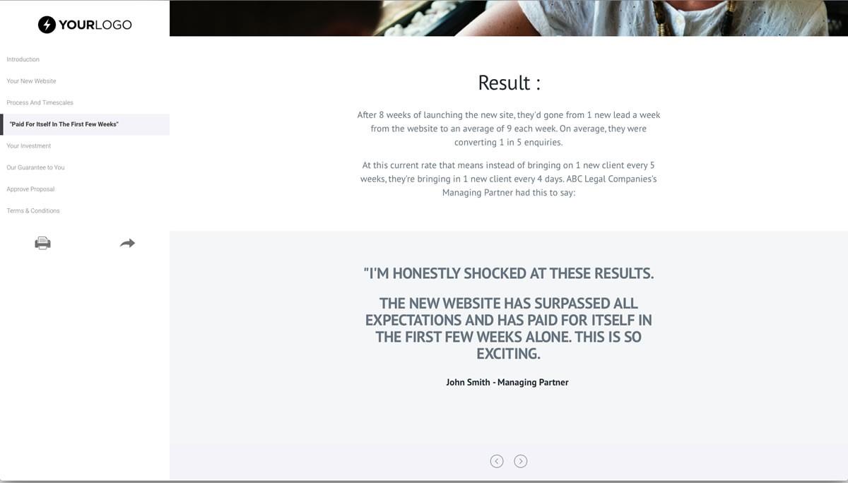 نمایش-طرحی-از-وب-سایت-در-پروپوزال-طراحی-وب-سایت