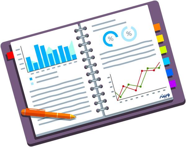 آمارها در نرم افزار مدیریت ارتباط با مشتریان