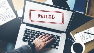 دلیل شکست یک سایت
