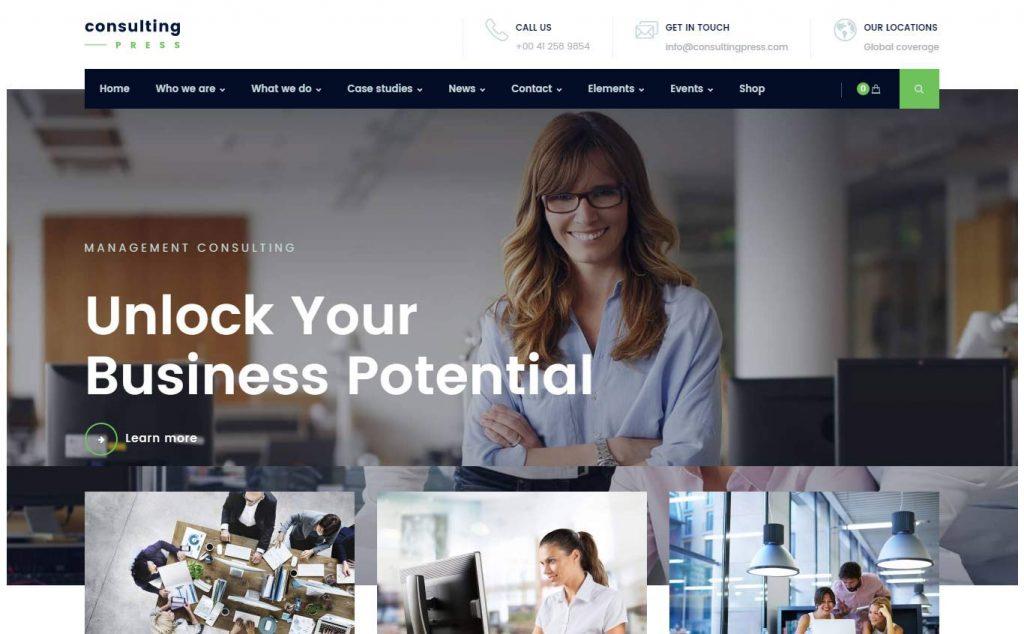 طراحی سایت شرکتی در وبینه با ودپرس