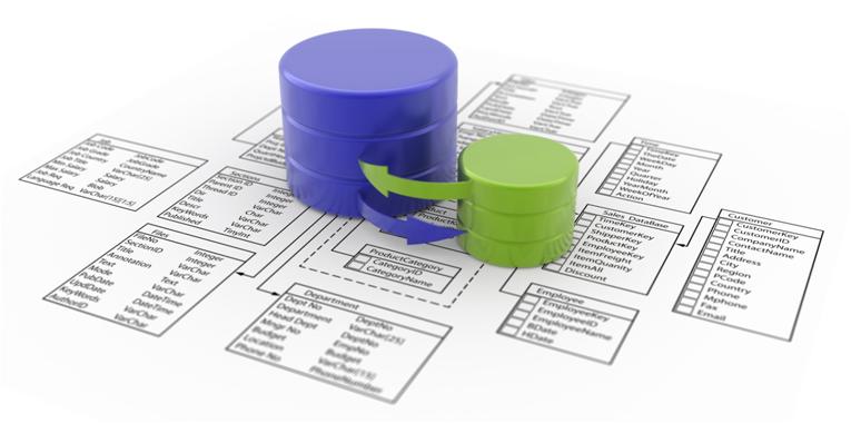 transfer database