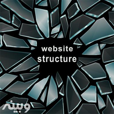 شکستن ساختار وب سایت