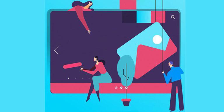 طراحی جدید و به روز وب سایت توسط طراحان