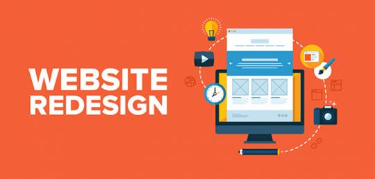 طراحی دوباره وب سایت