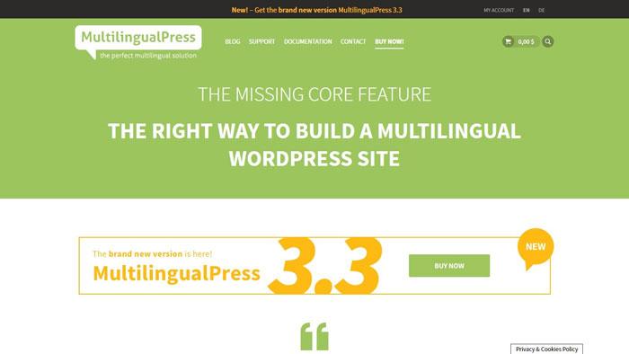 Multilingual-Press-plugin
