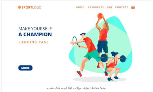 learning-sport-website