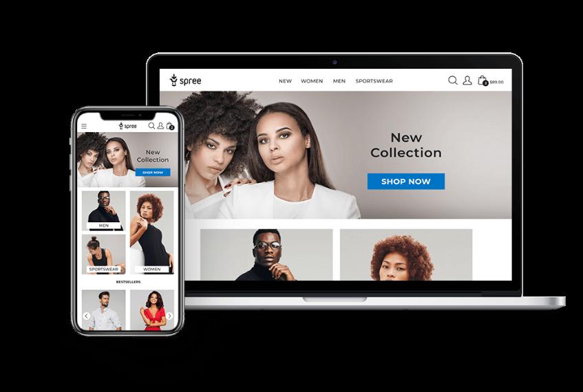طراحی انواع سایت فروشگاهی با لاراول